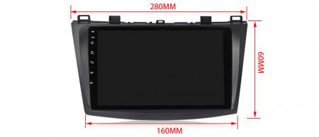 Navigatie Mazda 3 2013-2016, NAVI-IT, 10.25 Inch, 2GB RAM 32GB ROM, Android 9.1, WiFi, Bluetooth, Magazin Play, Camera Marsarier [2]