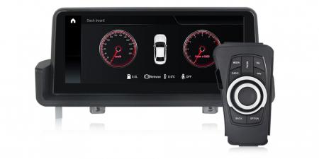 "Navigatie NAVI-IT 4 GB RAM + 64 GB ROM  BMW Seria 3 E90 E91 E92 E93 , Android, Touch Screen 10.25 "" IPS , Internet, Aplicatii , Waze , Wi Fi , Usb , Bluetooth , Mirrorlink2"