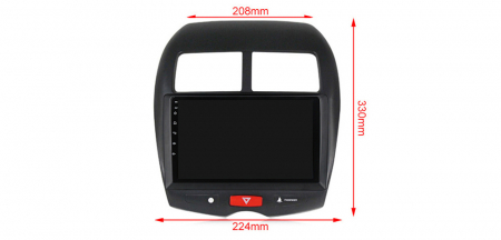 Navigatie Mitsubishi ASX 2010-2019,  Peugeot 4008 NAVI-IT, 10.1 Inch, NAVI-IT, 10.1 Inch, 1GB RAM 16GB ROM, Android 9.1, WiFi, Bluetooth, Magazin Play, Camera Marsarier [2]