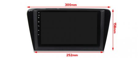Navigatie Skoda Octavia A7 2014, NAVI-IT, 10.1 Inch, 1GB RAM 16 GB ROM, Android 9,1, WiFi, Bluetooth, Magazin Play, Camera Marsarier [2]