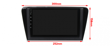 Navigatie Skoda Octavia A7 2014 NAVI-IT, 10.1 Inch, 4GB RAM 64GB ROM, IPS, DSP, RDS, 4G, Android 10 , WiFi, Bluetooth, Magazin Play, Camera [2]