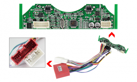 Navigatie Mazda 6 2002-2008 , NAVI-IT, 9 Inch, 2GB RAM 32GB ROM, Android 9.1, WiFi, Bluetooth, Magazin Play, Camera Marsarier [2]