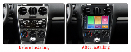 Navigatie Mazda 6 2002-2008, NAVI-IT, 9 Inch, 4GB RAM 64GB ROM, IPS, DSP, RDS, 4G, Android 10 , WiFi, Bluetooth, Magazin Play, Camera Marsarie [3]