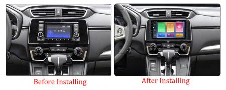 Navigatie Honda CR-V 2016-2018, NAVI-IT, 9 Inch, 1GB RAM 16GB ROM, Android 9.1 , WiFi, Bluetooth, Magazin Play, Camera Marsarier [3]