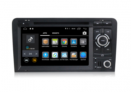 Navigatie auto dedicata Audi A3/S3 (2003-2013) 2 GB RAM, 32 ROM ,Android 10, 7 inch, 2/16GB DSP1