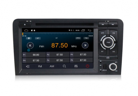 Navigatie auto dedicata Audi A3/S3 (2003-2013) 2 GB RAM, 32 ROM ,Android 10, 7 inch, 2/16GB DSP2