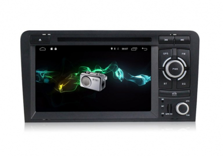 Navigatie auto dedicata Audi A3/S3 (2003-2013) 2 GB RAM, 32 ROM ,Android 10, 7 inch, 2/16GB DSP3