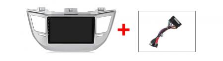 Navigatie Hyundai Tucson, IX35 2014-2018 , NAVI-IT, 9 Inch, 2GB RAM 32GB ROM, Android 9.1, WiFi, Bluetooth, Magazin Play, Camera Marsarier [3]