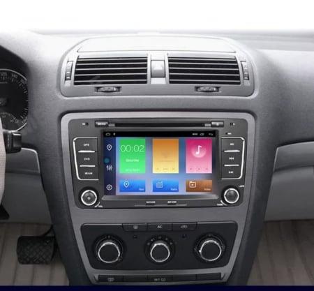 Navigatie NAVI-IT, 2GB RAM 16GB ROM, Skoda Octavia 2, Display 7 Inch, Android 10, IPS, DSP, RDS, WiFi, Bluetooth, Magazin Play0