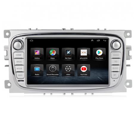 Navigatie NAVI-IT 4 GB RAM + 64 GB ROM Gps Android Ford Mondeo Focus S Max Transit Tourneo, Interne ,Aplicatii , Waze , Wi Fi , Usb , Bluetooth , Mirrorlink1