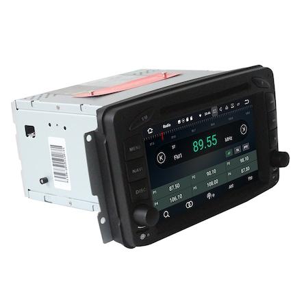 Navigatie NAVI-IT 4GB RAM + 64GB ROM, 4G, IPS, DSP Gps Mercedes C Class W203 Vaneo Vito Viano , Android 9.1 , Internet ,Aplicatii , Waze , Wi Fi , Usb , Bluetooth , Mirrorlink - Copie - Copie0