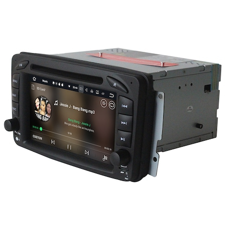 Navigatie NAVI-IT 4GB RAM + 64GB ROM, 4G, IPS, DSP Gps Mercedes C Class W203 Vaneo Vito Viano , Android 9.1 , Internet ,Aplicatii , Waze , Wi Fi , Usb , Bluetooth , Mirrorlink - Copie - Copie1