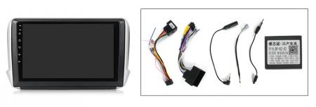 Navigatie Peugeot 208, NAVI-IT, 10.1 Inch, 1GB RAM 16GB ROM, Android 9.1, WiFi, Bluetooth, Magazin Play, Camera Marsarier [4]