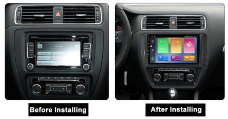 Navigatie Volkswagen Sagitar, Jetta 2012-2015, NAVI-IT, 9 Inch, 2GB RAM 32GB ROM, Android 9,1, WiFi, Bluetooth, Magazin Play, Camera Marsarier [1]