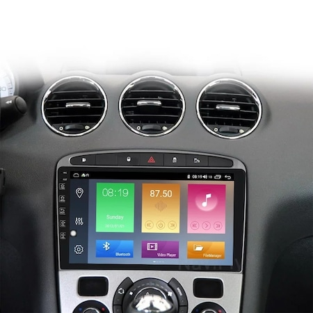 Navigatie NAVI-IT, 1GB RAM 16GB ROM, Peugeot 308 408 ( 2008 - 2020 ) , Android , Display 9 inch, Internet ,Aplicatii , Waze , Wi Fi , Usb , Bluetooth , Mirrorlink2