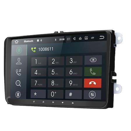 "Navigatie NAVI-IT Gps Android de 9 "" VW Golf 5 6 Passat B6 B7 CC EOS Tiguan Polo Touran Caddy Amarok , Skoda Octavia Fabia Seat Leon , Waze Youtube Internet Wi Fi Usb , Android 9.1, 2 GB RAM + 32 GB R0"