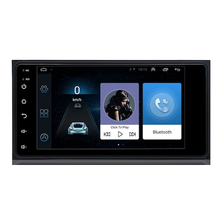 Navigatie NAVI-IT, 1GB RAM 16 GB ROM Toyota Hilux, RAV4, Prado, Corolla, Vios,  7 inch Android 9.1 [0]
