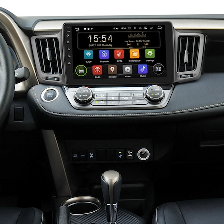 """Navigatie NAVI-IT, 1GB RAM 16GB ROM, Android Toyota Rav 4 ( 2012 - 2018 ) , Display 10.1 """" , Internet , Aplicatii , Waze , Wi Fi , Usb , Bluetooth , Mirrorlink1"""