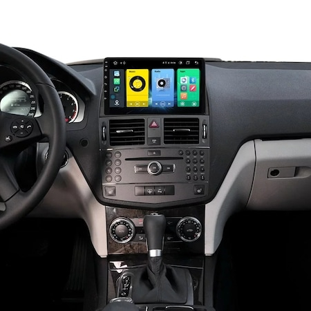 Navigatie NAVI-IT 1 GB RAM + 16 GB ROM Mercedes C Class W204 ( 2006 - 2012 ), Carplay , Android , Aplicatii , Usb , Wi Fi , Bluetooth2