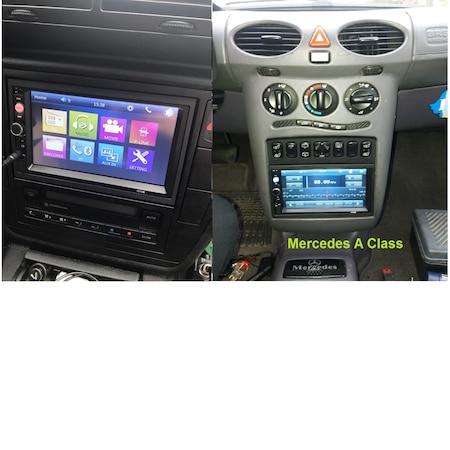 Navigatie MirrorLink mp5 player auto 7010B, Rama,Suporti prindere, Bluetooth, Divix , AVI , USB , SD Card , AUX2