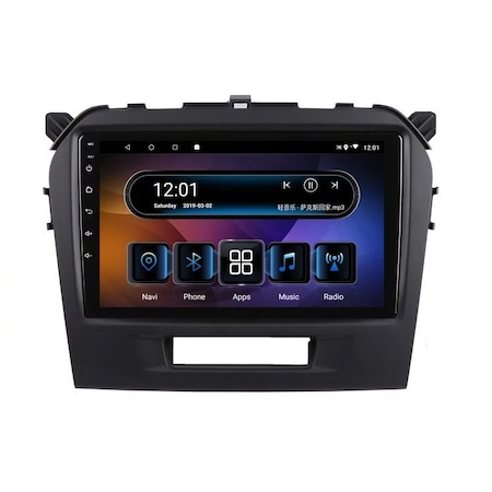 Navigatie NAVI-IT, 1GB RAM 16GB ROM, Suzuki Grand Vitara ( 2016 + ) , Android , Display 9 inch , Internet ,Aplicatii , Waze , Wi Fi , Usb , Bluetooth , Mirrorlink0