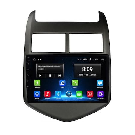 Navigatie NAVI-IT, 4GB RAM 64GB ROM, 4G, IPS, DSP, Android Chevrolet Cruze Aveo ( 2008 - 2015 ) , Display 9 inch ,Internet , Aplicatii , Waze , Wi Fi , Usb , Bluetooth , Mirrorlink0