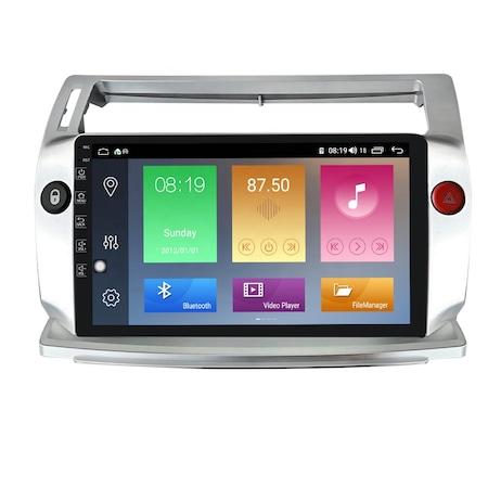 Navigatie NAVI-IT, 1GB RAM, 16GB ROM, Citroen C4 2005-2011, Android 9.1, 9 Inch, WiFi, Bluetooth, Waze0