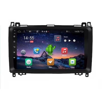 Navigatie NAVI-IT 2 GB RAM 32 GB ROM Android Mercedes Vito Sprinter Viano B200 A B Class VW Crafter , Display 9 inch , Internet ,Aplicatii , Waze , Wi Fi , Usb , Bluetooth , Mirrorlink [2]