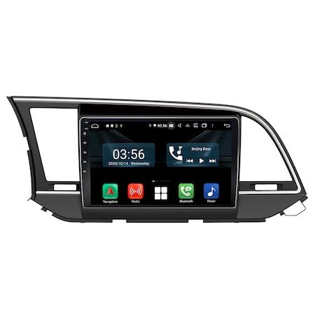 Navigatie NAVI-IT, 4GB RAM 64GB ROM, 4G, IPS, DSP, dedicata Android 9.1, Hyundai Elantra 2016-2018, WiFi, Bluetooth, Magazin Play - Copie - Copie0