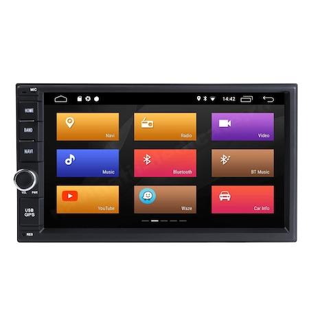 Navigatie NAVI-IT, 1GB RAM 16GB ROM Android Nissan XTrail Juke Navara Qashqai Pathfinder RAM Ecran IPS Carkit Usb Mirrorlink0