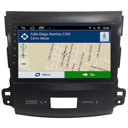 Navigatie NAVI-IT, Mitsubishi Outlander ( 2006 - 2014 ) , Android , Display 9 inch , 1GB RAM + 16 GB ROM , Internet , Aplicatii , Waze , Wi Fi , Usb , Bluetooth , Mirrorlink0