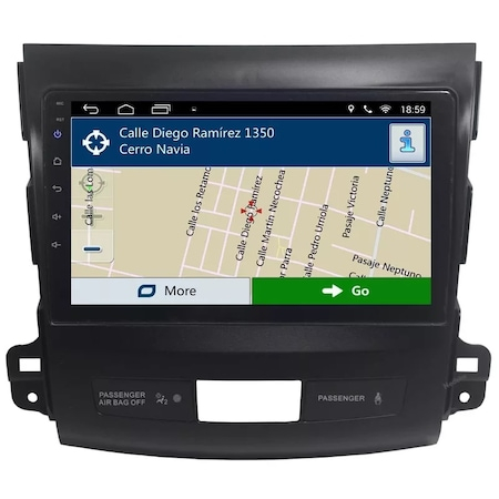Navigatie NAVI-IT, 2GB RAM +32 GB ROM , Mitsubishi Outlander ( 2006 - 2014 ) , Android , Display 9 inch, Internet , Aplicatii , Waze , Wi Fi , Usb , Bluetooth , Mirrorlink [0]