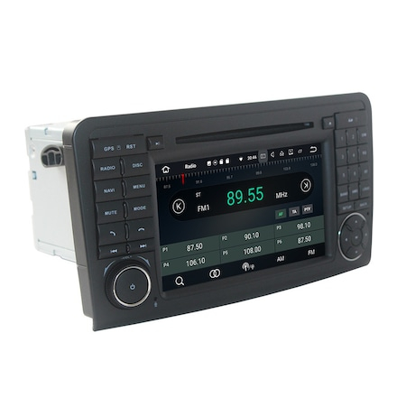 Navigatie NAVI-IT 1GB RAM + 16GB ROM , Gps Mercedes ML W164 , GL X164 ( 2005 - 2012) , Android 9.1 Internet ,Aplicatii , Waze , Wi Fi , Usb , Bluetooth , Mirrorlink [0]