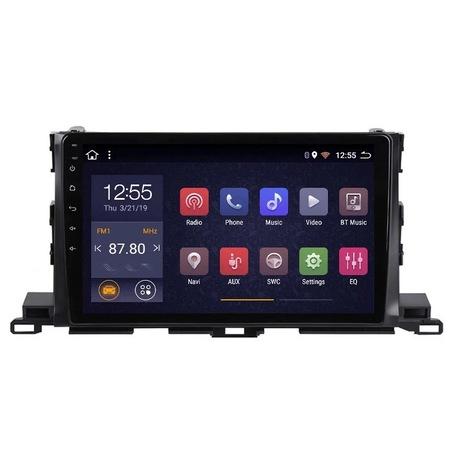 Navigatie NAVI-IT, 1GB RAM 16GB ROM, Toyota Highlander ( 2014 - 2018 ), Carplay , Android , Aplicatii , Usb , Wi Fi , Bluetooth0
