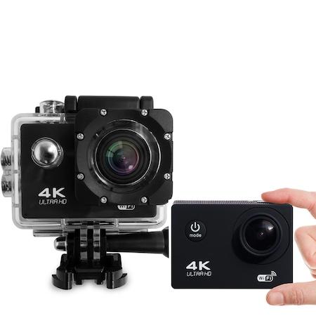 Camera Video Actiune Sport 4K, Ecran 2'' LCD, Waterproof, telecomanda pentru actiune de la distanta1