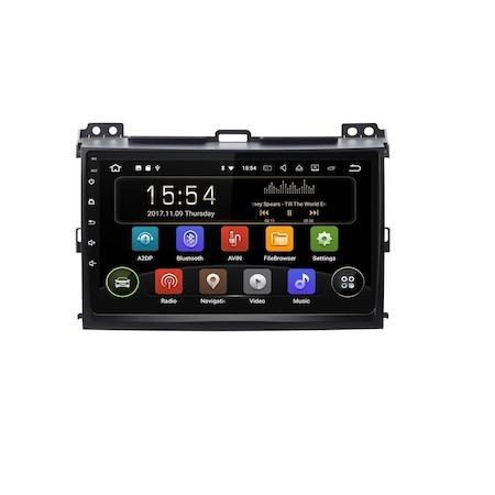Navigatie NAVI-IT, 1GB RAM 16GB ROM Toyota Land Cruiser J120 Prado ( 2003 - 2009 ) , Carplay , Android , Aplicatii , Usb , Wi Fi , Bluetooth [0]