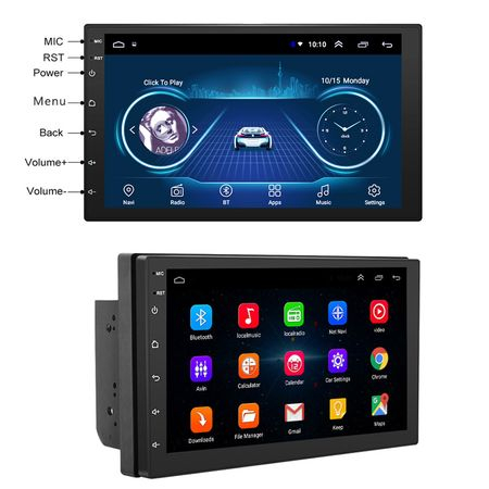 Navigatie 7 inch cu Android 9, 2 Gb RAM ,Vw, Ford , Nissan, Dacia, mufare Iso,suporti de prindere si microfon Extern [1]
