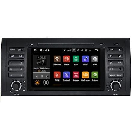 Navigatie NAVI-IT 2+32 GB Gps BMW Seria 5 E39 X5 E53 Seria 7 E38 , Android 9.1, 1GB RAM , Internet , Aplicatii , Waze , Wi Fi , Usb , Bluetooth , Mirrorlink - Copie1