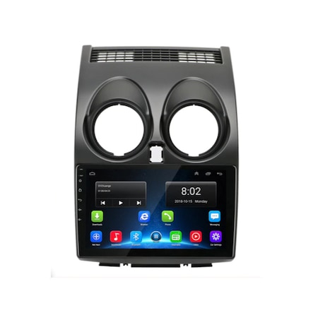 "Navigatie NAVI-IT, 1GB RAM 16GB ROM, Dedicata Android 9.1 GPS Pentru Nissan Qashqai 2006-2013 Procesor Quad-Core, Display 9"" Full-Touch, WiFi, Bluetooth 4.0, 2 x USB, Microfon, GPS0"