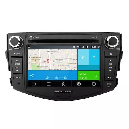 Navigatie NAVI-IT, 2GB RAM 16 GB ROM Toyota Rav 4 ,Wi-Fi , Android , Bluetooth, WiFi, Internet, Magazin Play2