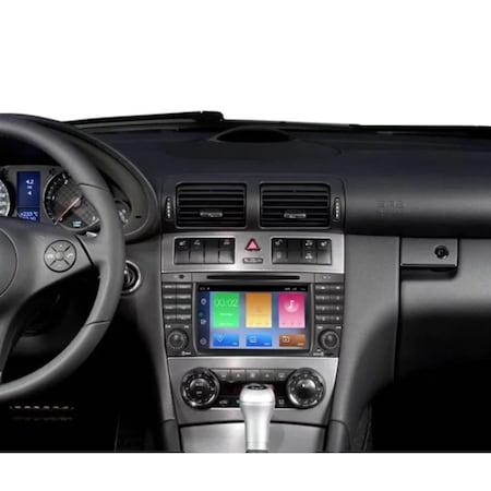 Navigatie NAVI-IT, 2GB RAM 32GB ROM Android 9.1 dedicata Mercedes C-Class, CLC (W203), G-Class (W467) cu DVD + Cadou Card GPS 16 Gb - Copie2
