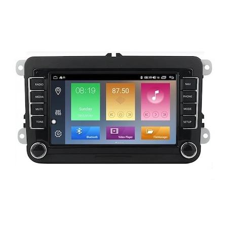 Navigatie NAVI-IT, Android 9.1, VW, Golf 5, 6, Passat, B6, B7, CC, Tiguan, Touran, Jetta, Eos, Polo, Sharan, Amarok, Caddy, 1GB RAM + 16GB ROM, Internet, Aplicatii , Waze , Wi Fi , Usb , Bluetooth , M [0]