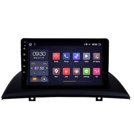 Navigatie NAVI-IT 1GB RAM + 16 GB ROM BMW X3 E83 ( 2004 - 2012 ) , Android , Display 9 inch , Internet , Aplicatii , Waze , Wi Fi , Usb , Bluetooth , Mirrorlink0