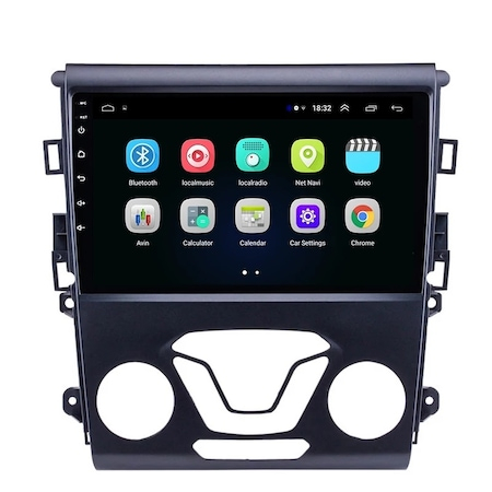 """Navigatie NAVI-IT, 1GB RAM 16GB ROM, Gps Ford Mondeo ( 2013 + ) , Android , Display 9 """" , Internet ,Aplicatii , Waze , Wi Fi , Usb , Bluetooth , Mirrorlink0"""