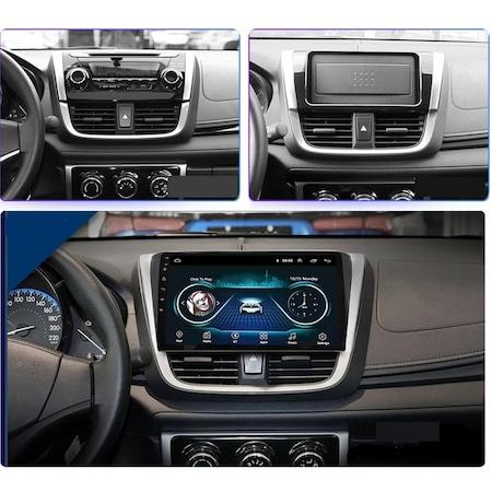 Navigatie NAVI-IT, 4GB RAM 64GB ROM, 4G, IPS, DSP,  Android Toyota Yaris ( 2014 + ) , Display 10 inch , Internet ,Aplicatii , Waze , Wi Fi , Usb , Bluetooth , Mirrorlink - Copie - Copie1