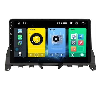 Navigatie NAVI-IT 1 GB RAM + 16 GB ROM Mercedes C Class W204 ( 2006 - 2012 ), Carplay , Android , Aplicatii , Usb , Wi Fi , Bluetooth0