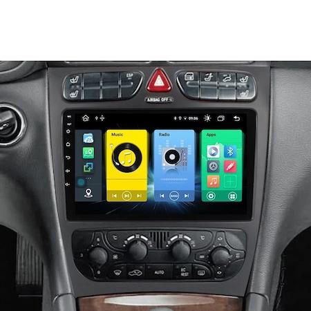 Navigatie NAVI-IT 6GB RAM + 128GB ROM, 4G, IPS, DSP, Mercedes C Class W203 CLK W209 ( 2000 - 2005 ) , Android 11 , Display 9 inch, Internet , Aplicatii , Waze , Wi Fi , Usb , Bluetooth , Mirrorlink [2]