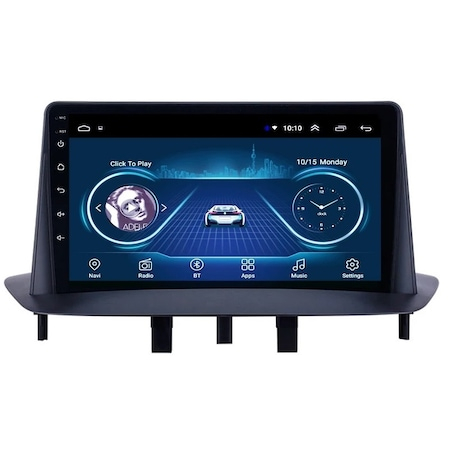 Navigatie NAVI-IT, 2GB RAM 32GB ROM, Renault Megane 3 Fluence ( 2009 -2015 ) , Display 9 inch , Android 9.0 , Internet ,Aplicatii , Waze , Wi Fi , Usb , Bluetooth0