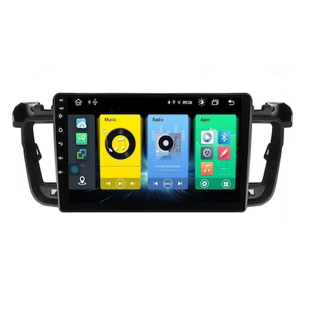Navigatie NAVI-IT, 2GB RAM 32GB ROM, Peugeot 508 ( 2010 - 2018 ) , Android , Display 9 inch ,Internet , Aplicatii , Waze , Wi Fi , Usb , Bluetooth , Mirrorlink - Copie1