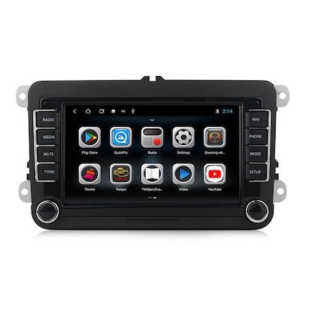 Navigatie NAVI-IT, Android 9.1, VW, Golf 5, 6, Passat, B6, B7, CC, Tiguan, Touran, Jetta, Eos, Polo, Sharan, Amarok, Caddy, 1GB RAM + 16GB ROM, Internet, Aplicatii , Waze , Wi Fi , Usb , Bluetooth , M1